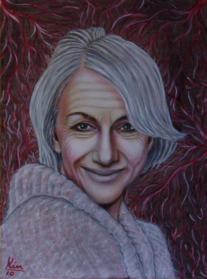 Oil Painting > Serenity ( Helen Mirren )