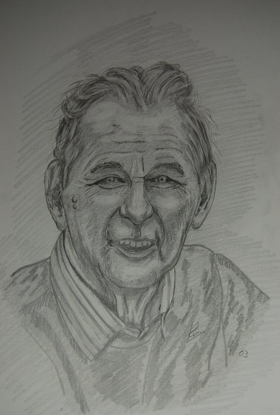 Pencil/Pastel > Brian Clough