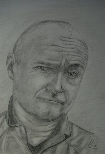 Pencil / Pastel > Phil Collins