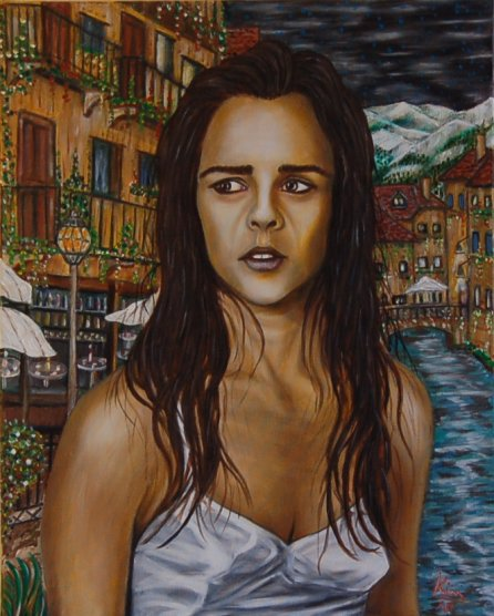 Oil Painting > Terminus ( Ali MacGraw )