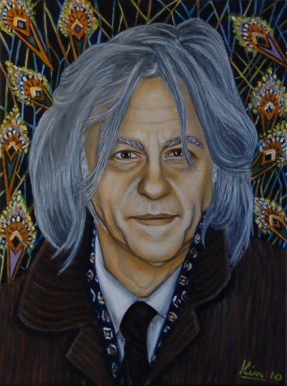 Oil Painting > Before the Cold ( Bob Geldof )