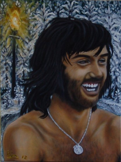 Oil Painting > Belfast Child ( George Best )