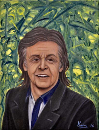 Oil Painting > Blow the Hoolie > Paul McCartney