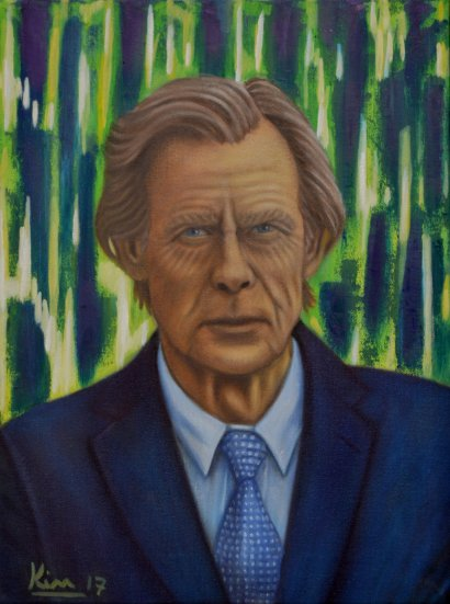 Oil Painting > Blue Howdies > Bill Nighy