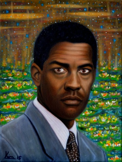 Oil Painting > Candy Park > Denzel Washington