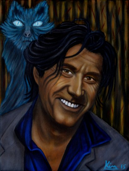 Oil Painting > Cat Blue > Bryan Ferry