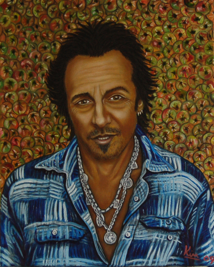 Oil Painting > Cider House ( Bruce Springsteen )
