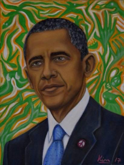 Oil Painting > Code of Conduct > Barack Obama