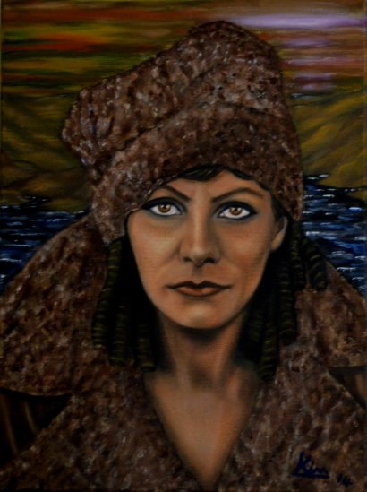 Oil Painting > Cold War > Greta Garbo
