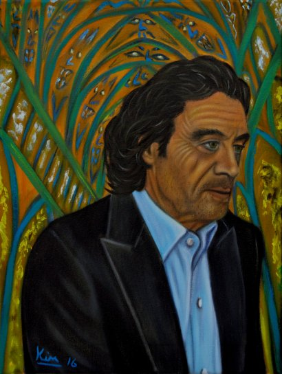 Oil Painting > Conquer to Fall > Ian McShane