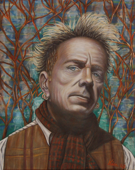 Oil Painting > Cow Town > John Lydon