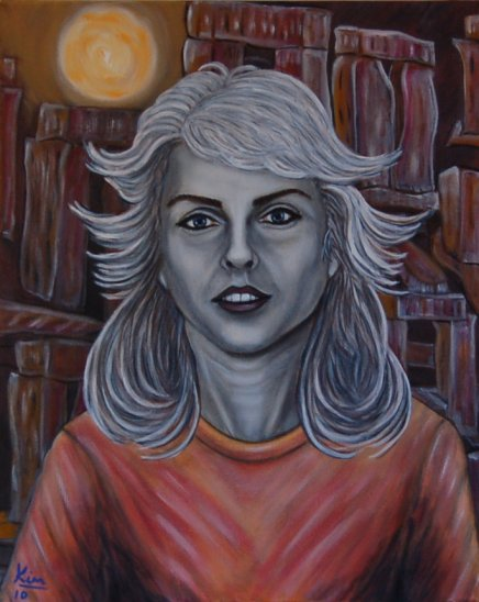 Oil Painting > Summer Solstice ( Debbie Harry ) - Click Image to Close
