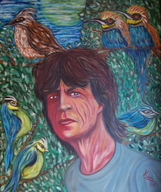 Oil Painting > Detect ( Mick Jagger )