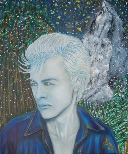 Oil Painting > Edelweiss ( James Dean )