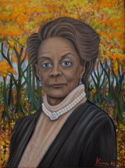Oil Painting > English Rose > Maggie Smith