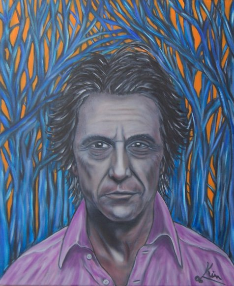 Oil Painting > Five Thirty ( Al Pacino )