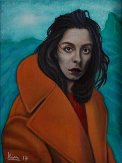 Oil Painting > Glass Slipper > Oona Chaplin