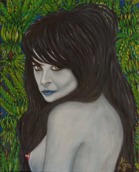 Oil Painting > Gothic Princess ( Sarah Brightman )