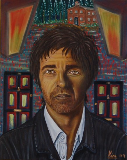 Oil Painting > Housing Benefit ( Noel Gallagher )
