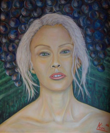 Oil Painting > Invite ( Jenna Jameson )