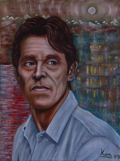 Oil Painting > Miasma ( Willem Dafoe )