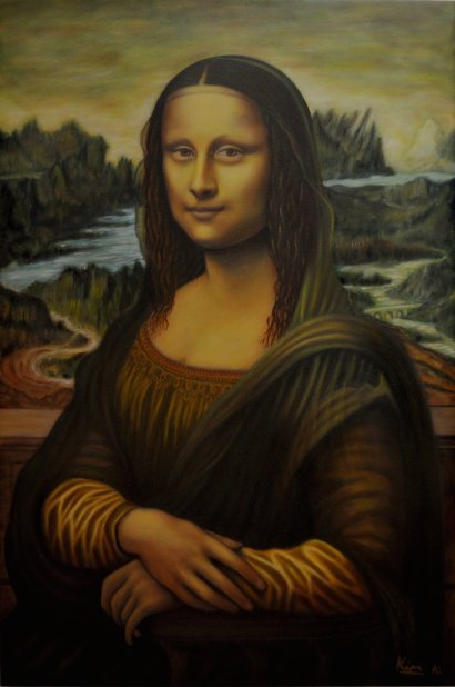 Oil Painting > Mona Lisa > No price guide Offers considered