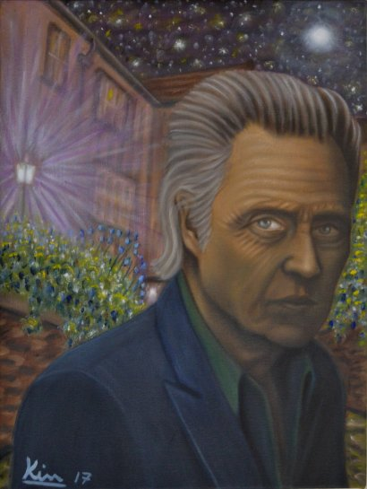 Oil Painting > Navigator > Christopher Walken