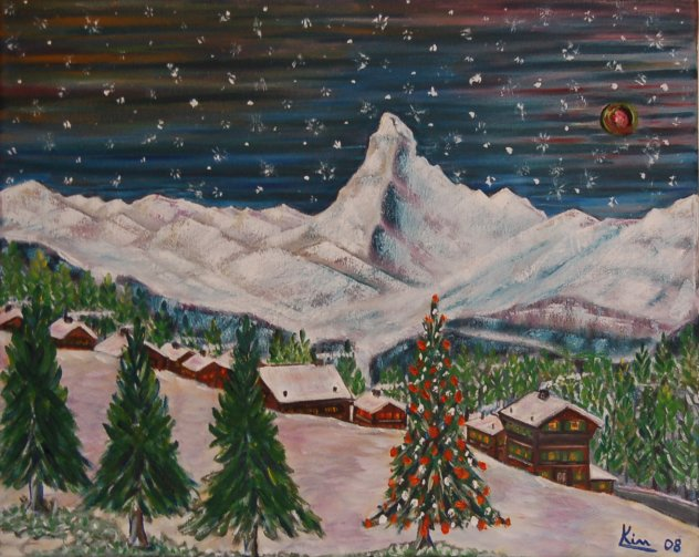Oil Painting > One Christmas Eve