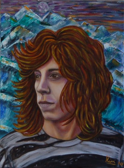Oil Painting > Pipe Dream ( Shaun White )