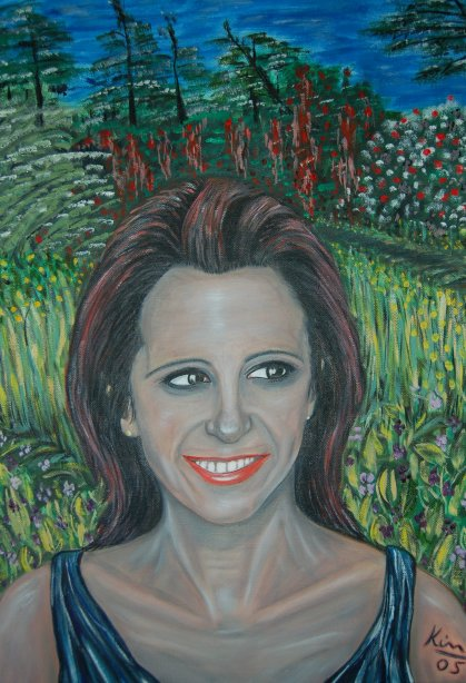 Oil Painting > Quillan ( Stephanie )