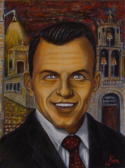 Oil Painting > Rat Pack ( Frank Sinatra )