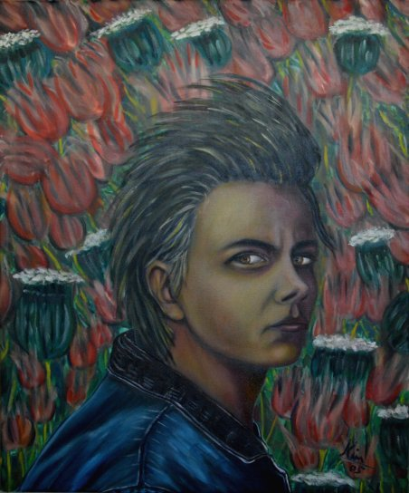 Oil Painting > Real Estate ( River Phoenix )