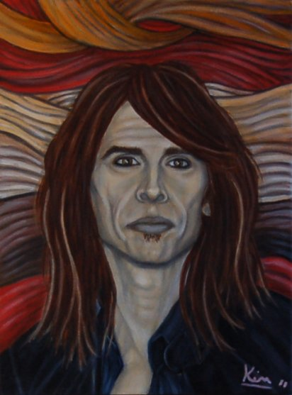 Oil Painting > Renegade ( Steven Tyler )