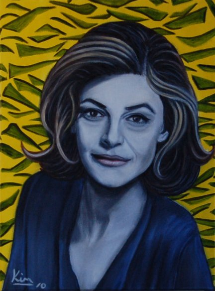 Oil Painting > Secret Service ( Anne Bancroft )