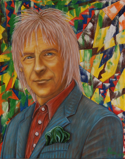 Oil Painting > Sun Dog ( Paul Weller )