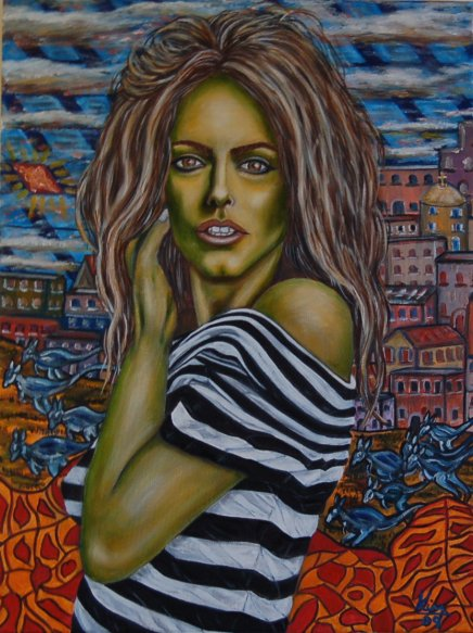 Oil Painting > System Default ( Patsy Kensit )