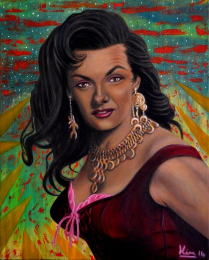 Oil Painting > The Fortune Teller > Jane Russell