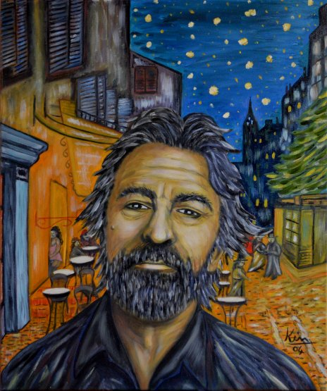 Oil Painting > Timeless > Robert De Niro - Click Image to Close