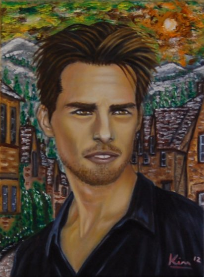 Oil Painting > Tin Can > Tom Cruise