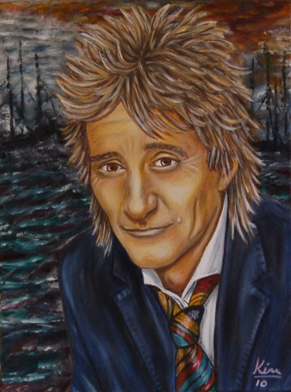 Oil Painting > Trade Winds > Rod Stewart