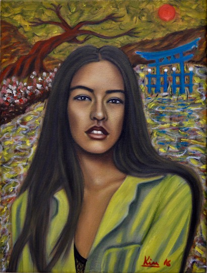 Oil Painting > Way of the Gods > Sonoya Mizuno