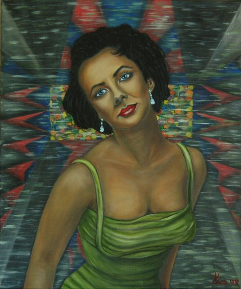 Oil Painting > Winter Palace ( Elizabeth Taylor )