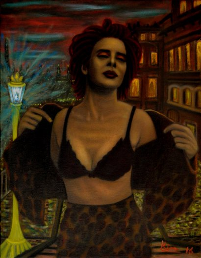Oil Painting > Witching Hour > Isabella Rossellini
