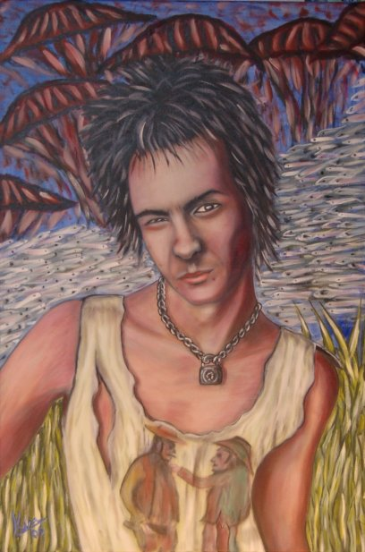 Oil Painting > Traffic ( Sid Vicious )